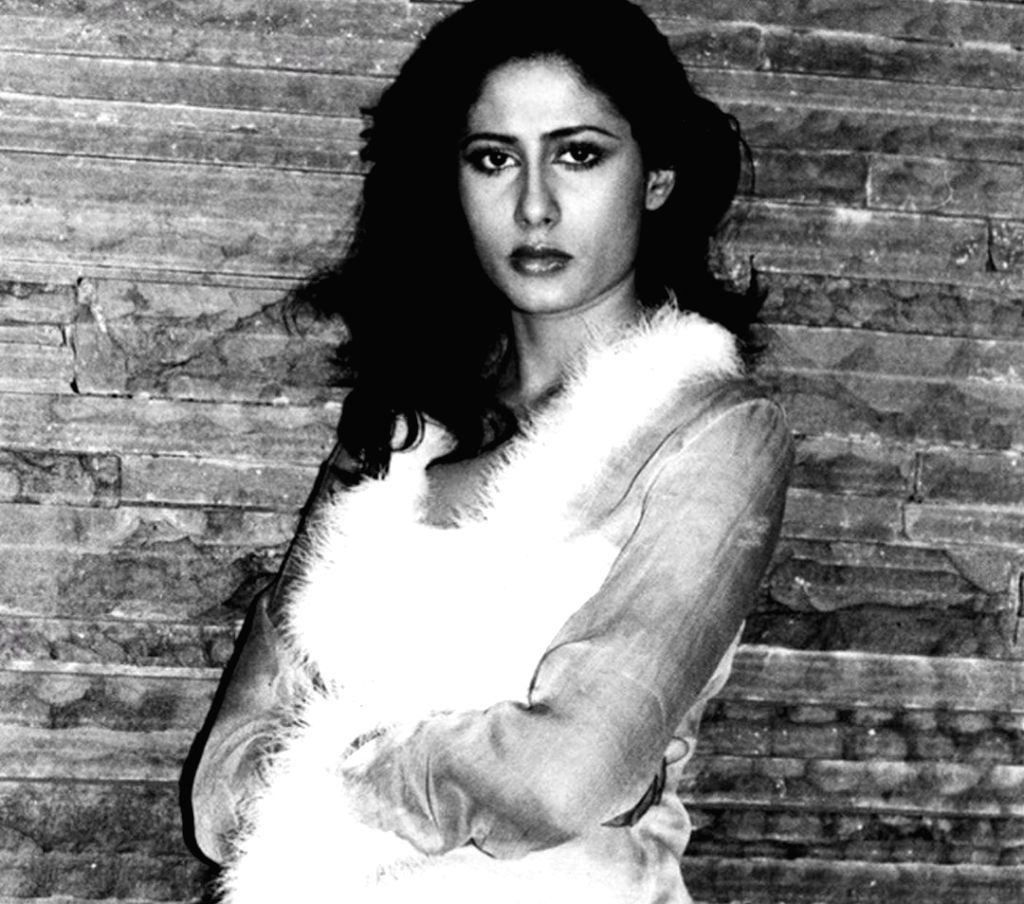"""On his late mother and veteran actress Smita Patil's 64th birth anniversary, her actor-son Prateik Babbar shared two photographs of his """"gorgeous lady"""". - Smita Patil and Prateik Babbar"""