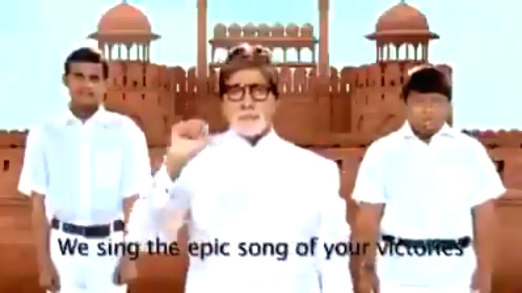 On the occasion of India's 71st Republic Day on Sunday, cine icon Amitabh Bachchan said he was honoured to get an opporunity to sing the national anthem along with hearing-impaired children. Big B ... - Amitabh Bachchan