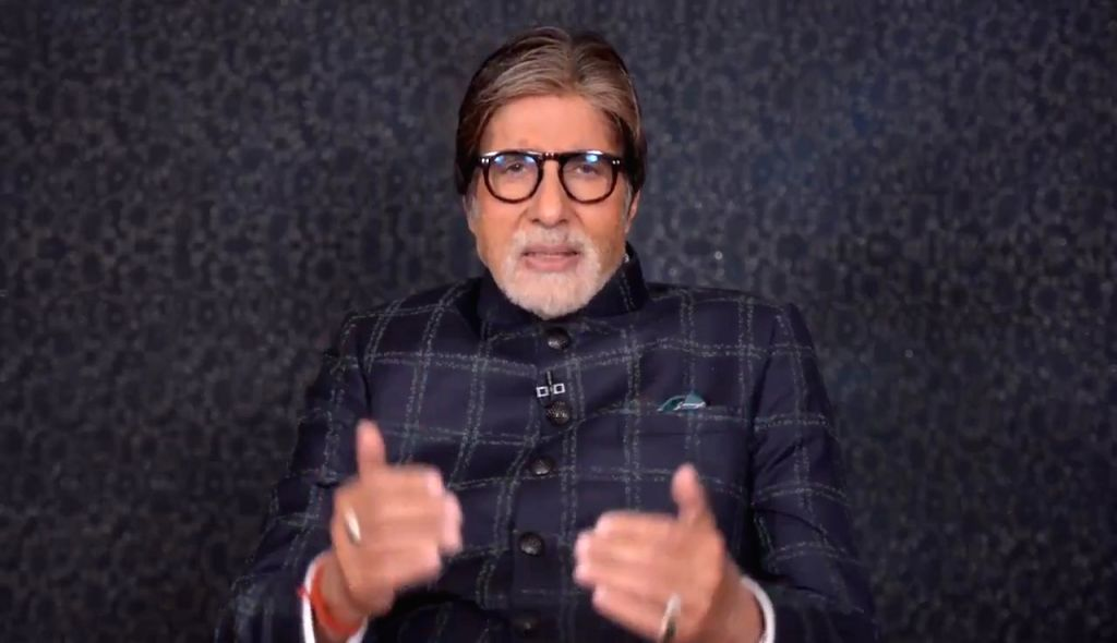 On the occasion of the legendary singer Lata Mangeshkar's 90th birthday, veteran actor Amitabh Bachchan shared a special video message for her on social media, paying tribute to her contribution to ... - Amitabh Bachchan