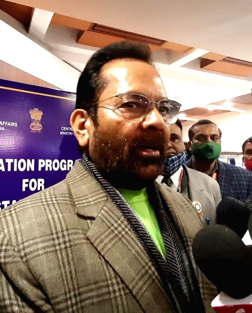 On the violence in Delhi, Naqvi said, the government cannot accept the tension of anarchy in the name of celebrating independence.