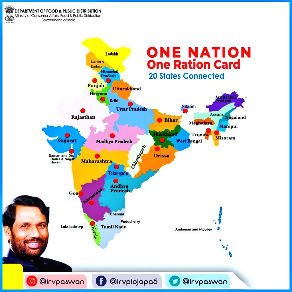 One nation one ration card.