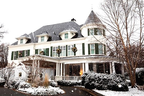 One Observatory Circle, the US Vice President's residence.(photo:Twitter)