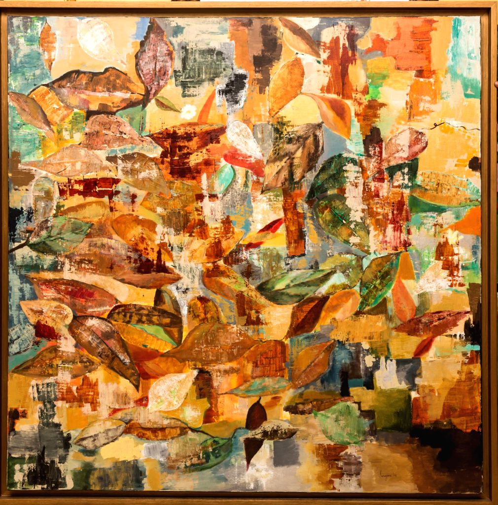 One of the paintings to be exhibited at AHAM