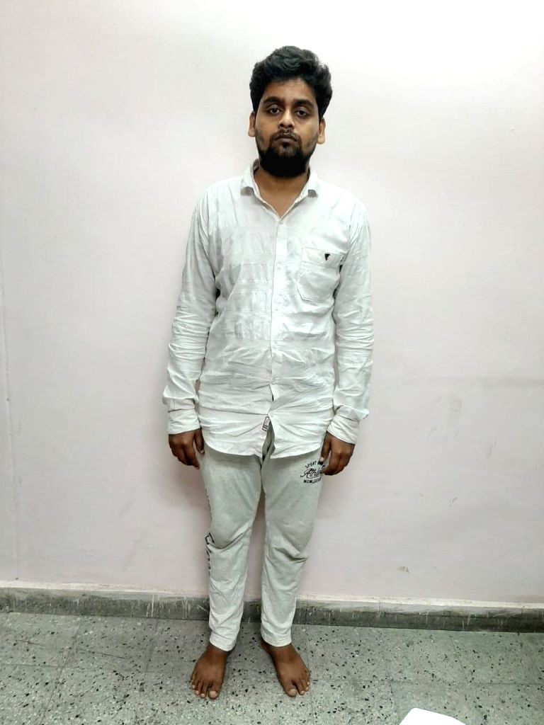 One of the two persons arrested in connection with a 9 year old kidnapping cum murder case in New Delhi on Oct 7, 2019.
