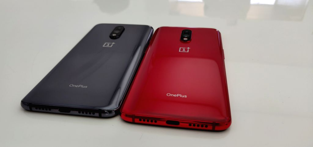 OnePlus 7 smartphone. (File Photo: IANS) ?