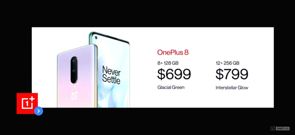 OnePlus 8 launch.