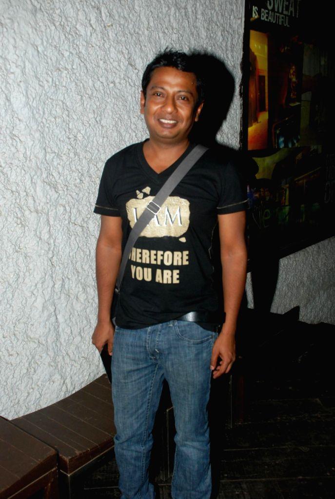 Onir at Kashish Queer Film Festival Pre Launch bash at Vie Lounge.