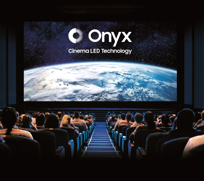 Onyx Cinema LED screen that was launched by Samsung at the Swagath Cinemas in Bengaluru, on April 25, 2019.