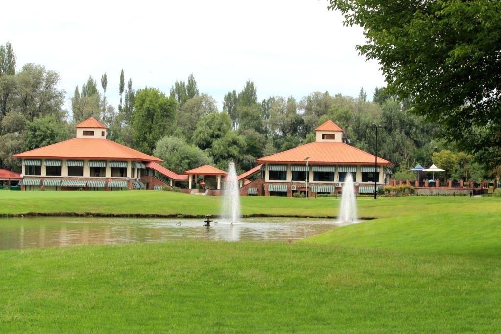Opening of Srinagar's Royal Springs Golf Course evokes criticism.