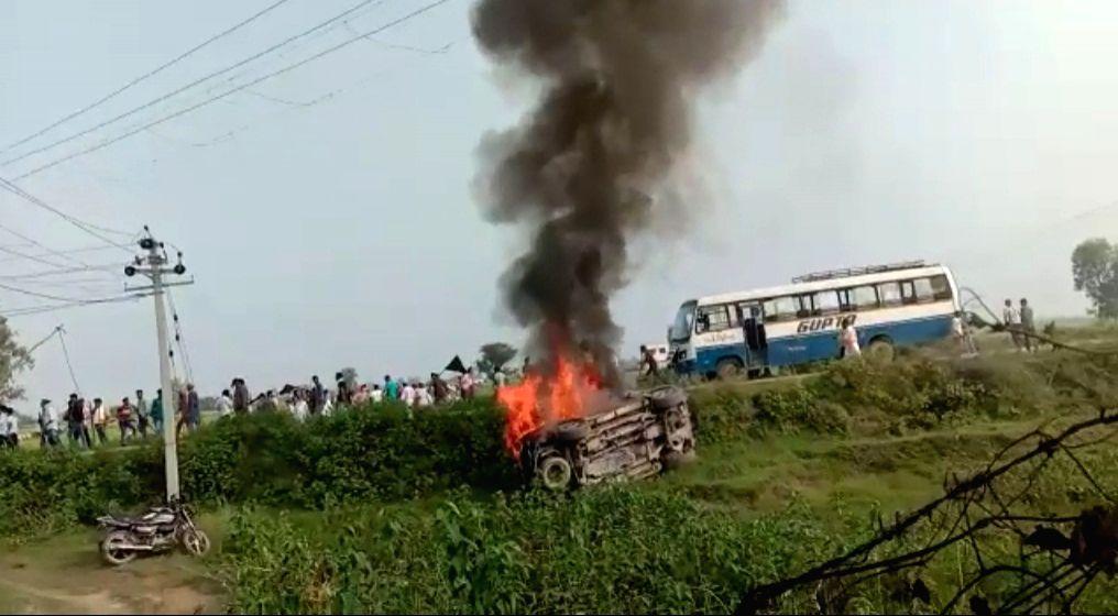 Oppn parties politicising Lakhimpur Kheri violence: BJP.