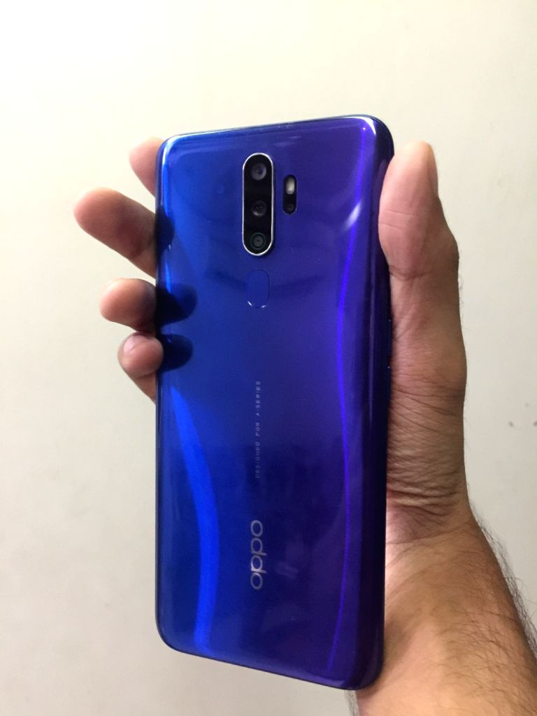 OPPO A9 2020 smartphone.