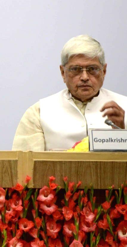 Opposition`s vice-presidential candidate Gopalkrishna Gandhi. (File Photo: IANS) - Gopalkrishna Gandhi