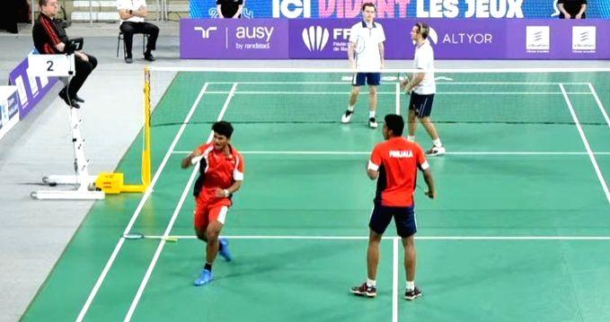 Orleans badminton: India's Garaga-Panjala in men's doubles final.
