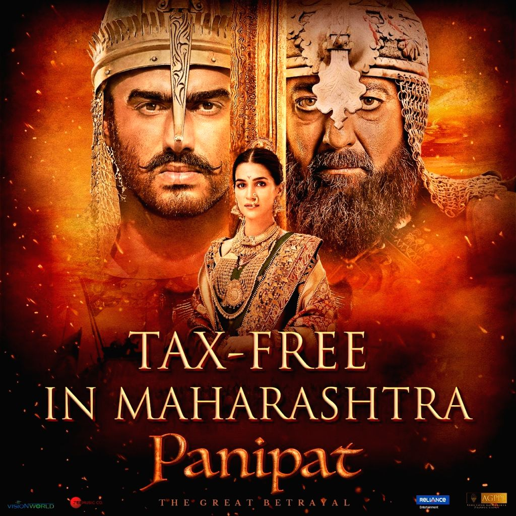 "Oscar-nominated director Ashutosh Gowariker's period drama ""Panipat"" has been declared tax-free in Maharashtra. Gowariker took to Twitter to thank Maharashtra Chief Minister Uddhav ... - Ashutosh Gowarike"