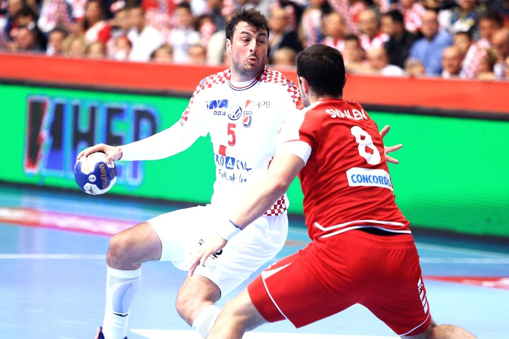 Croatia Osijek Handball 2020 Men S Ehf Euro Qualification
