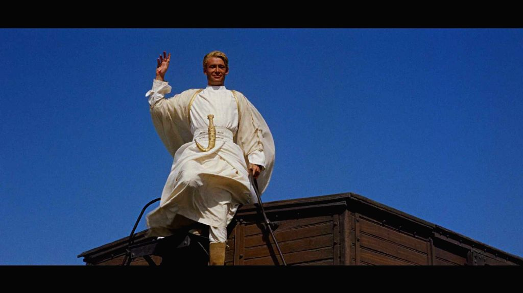 Our general conception of Lawrence of Arabia, based on Peter O'Toole's portrayal in the 1962 David Lean epic