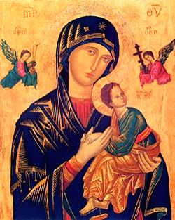 Our Lady of Perpetual Succour icon