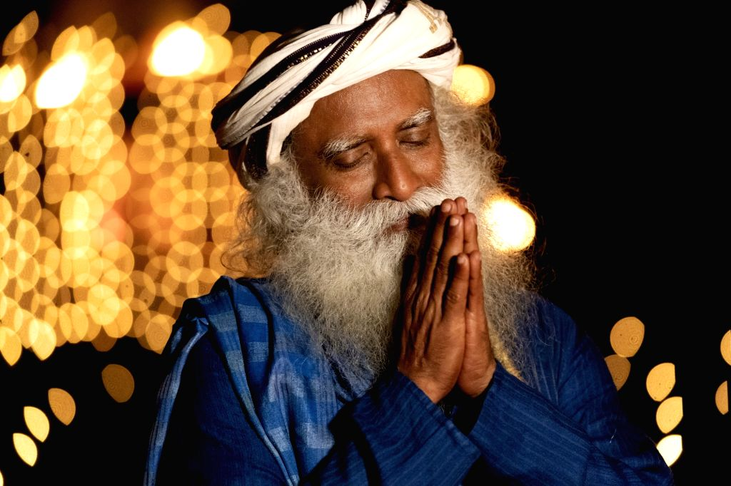 Outside situations don't influence the way I am within: Jaggi Vasudev.