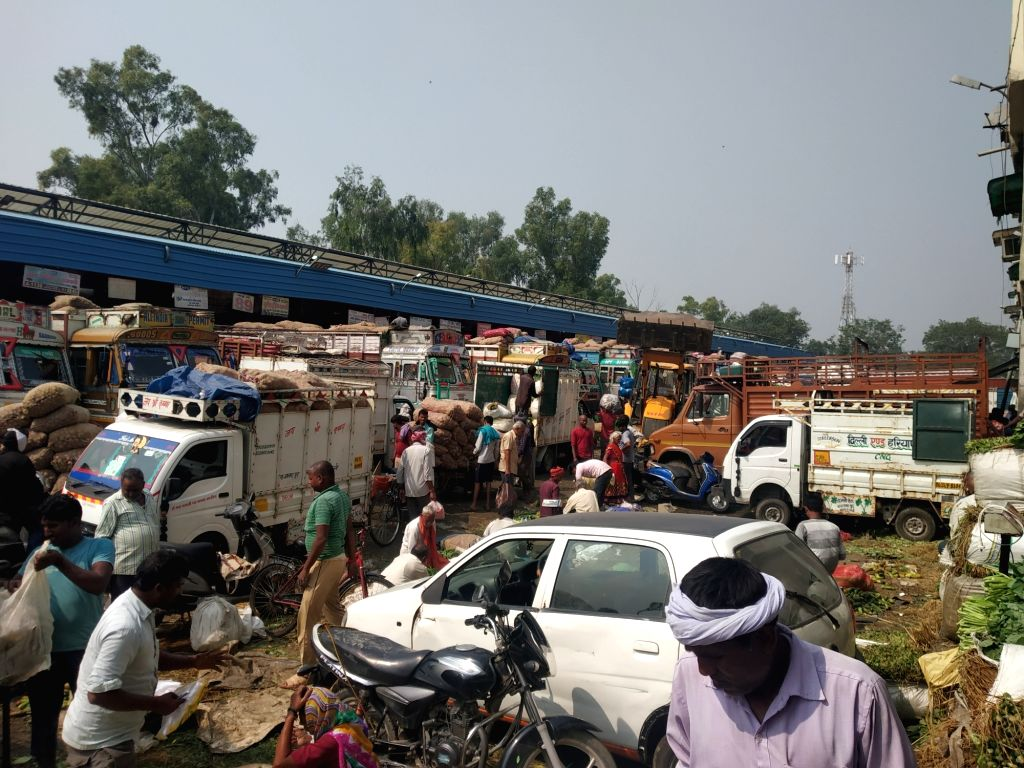 Over a month after the nation-wide lockdown was imposed, the government on Monday said that at least 76 per cent trucks carrying food and medicines are plying and over 79 per cent major agricultural wholesale markets or 'mandis' are operating in the