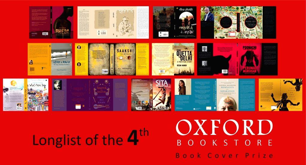 Oxford Bookstore Book Cover Prize Longlist 2019.