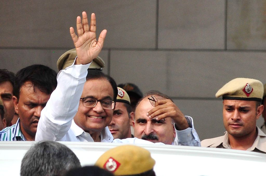 P. Chidambaram. (Photo: IANS)