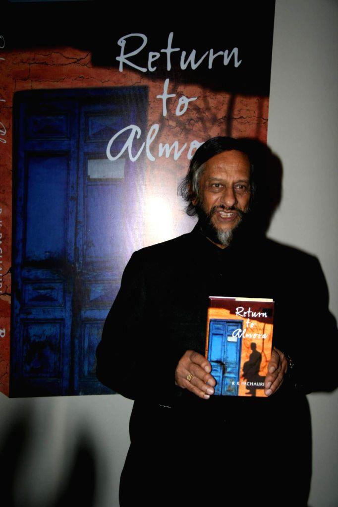 Pachauri's book Return to Almora launch at Taj.