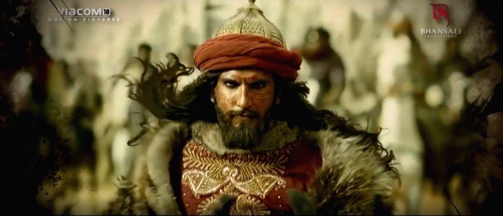 Padmaavat turns 3: Ranveer Singh looks back at tryst with dark side.(photo:instagram) - Ranveer Singh