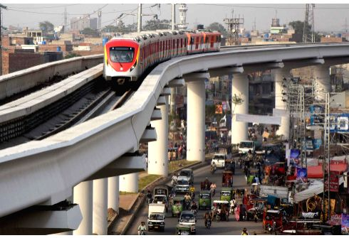 Pak's 1st ever metro train service begins commercial operation