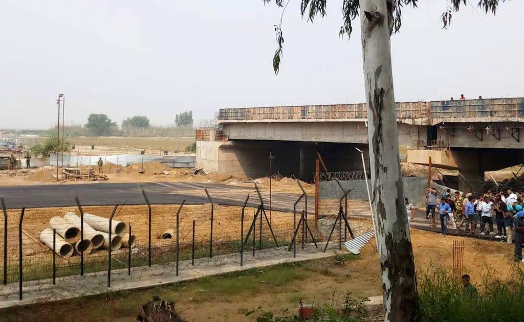 'Pak seems reluctant to complete bridge to Kartarpur Sahib'. (Photo: IANS)