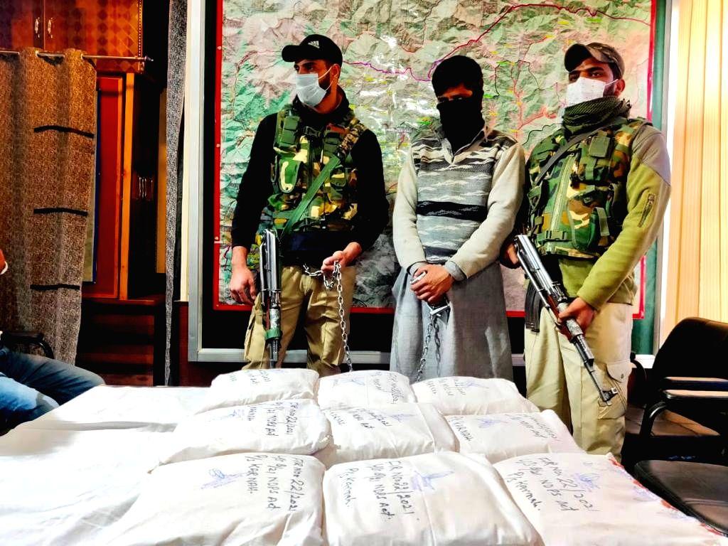 Pak sponsored narco-terror module busted by J&K police