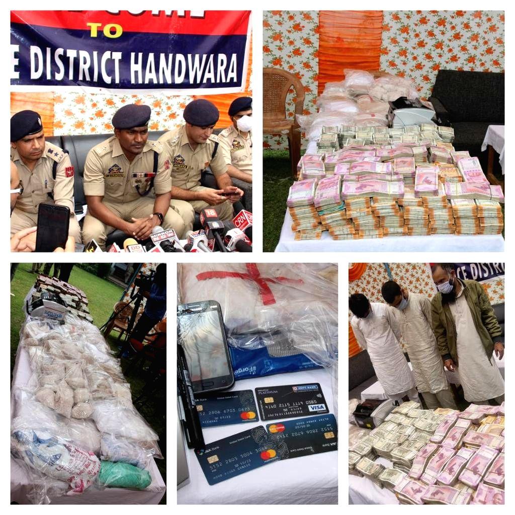 Pak-sponsored narco-terror module busted in Kashmir; 3 held