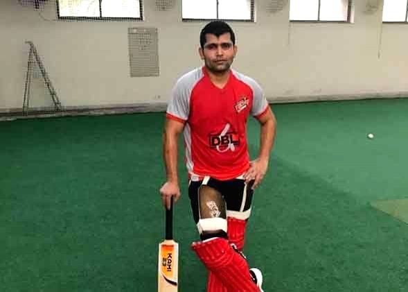 Pakistan cricketer Kamran Akmal.
