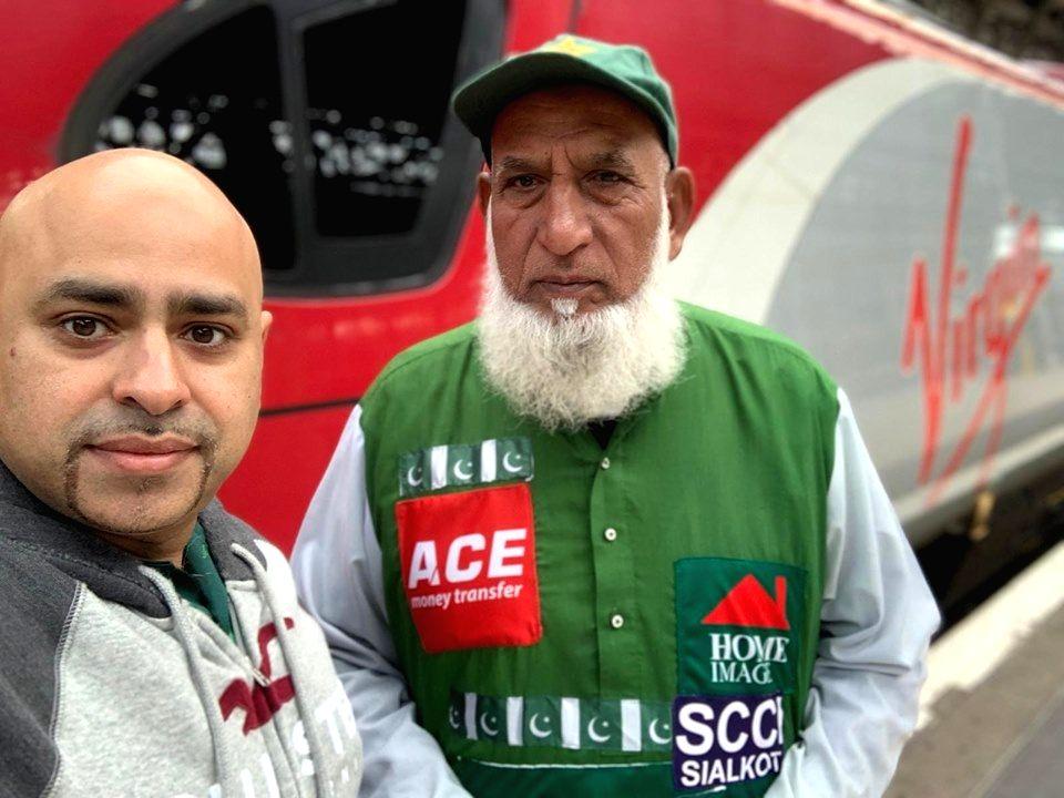 Pakistan's Chacha Cricket aka Abdul Jalil.