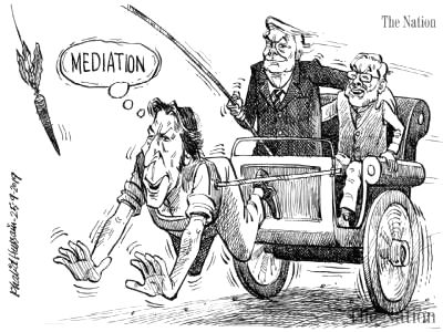 Pakistan's daily newspaper 'The Nation' created controversy by publishing a cartoon mocking Prime Minister Imran Khan. The newspaper, however, later apologised. - Imran Khan