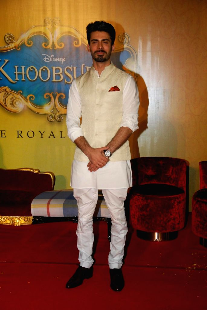 Pakistani actor Fawad Khan during the trailer launch of film Khoobsurat in Mumbai on July 21, 2014. (Photo : IANS) - Fawad Khan