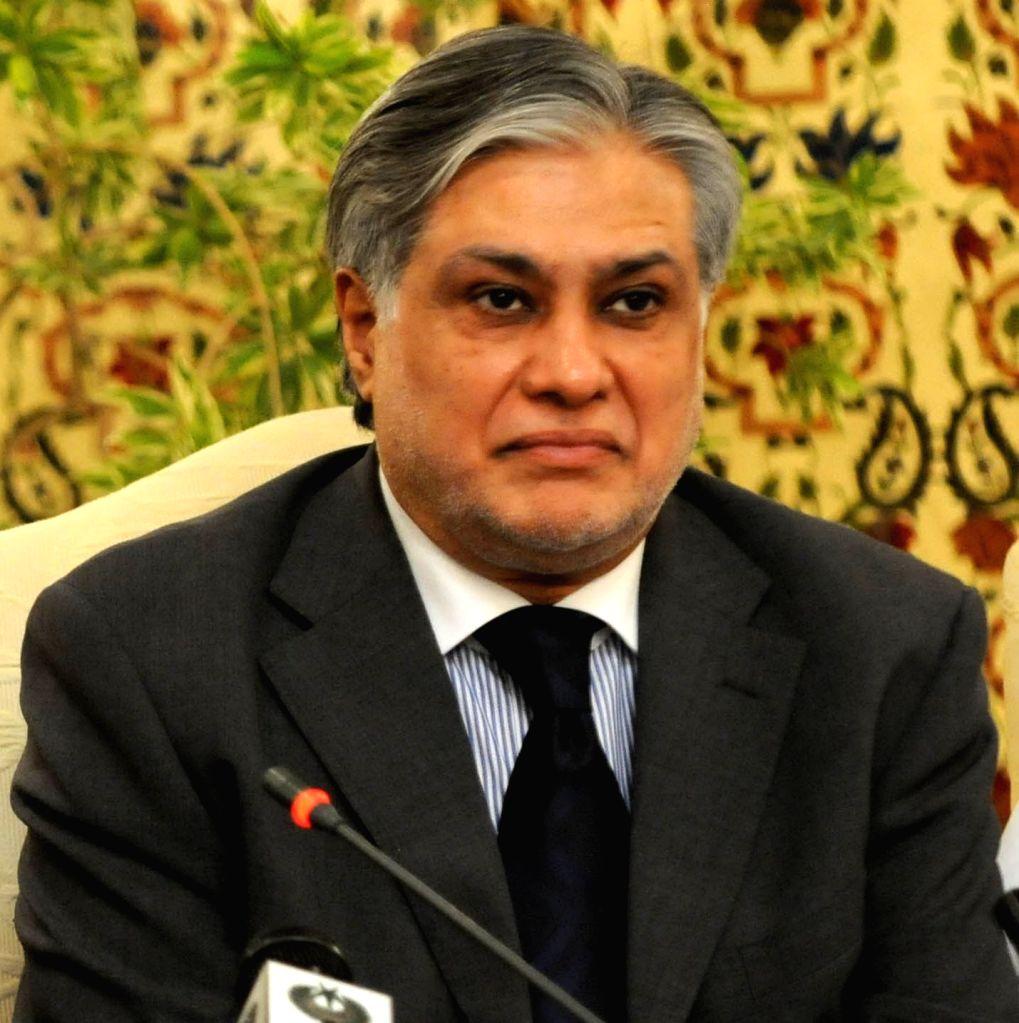 Pakistani Finance Minister Ishaq Dar. (File Photo: IANS) - Ishaq Dar