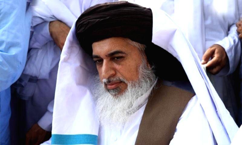 Pakistani Islamic scholar and Tehreek-i-Labbaik Pakistan (TLP) chief Khadim Hussain Rizvi.