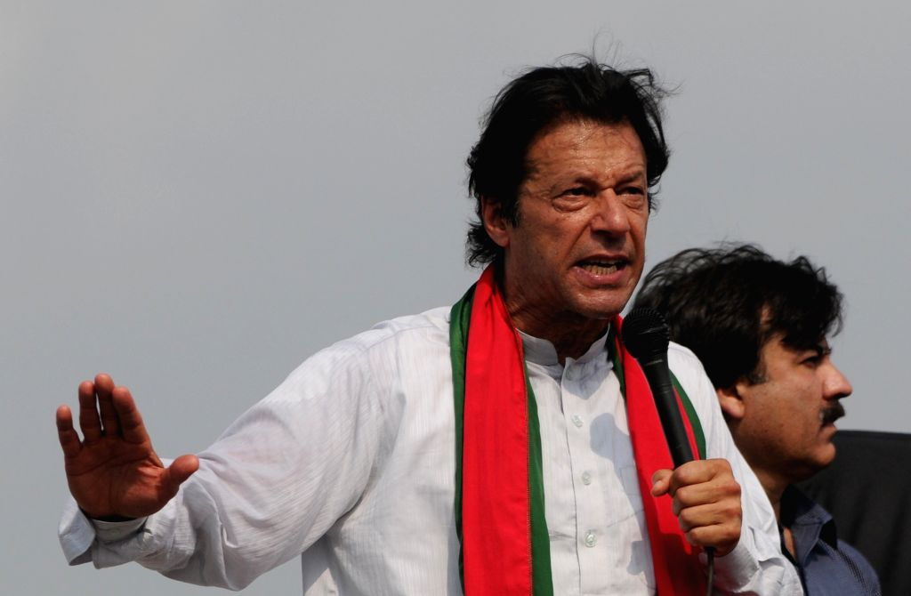 Pakistani opposition leader Imran Khan. (File Photo: IANS) - Imran Khan