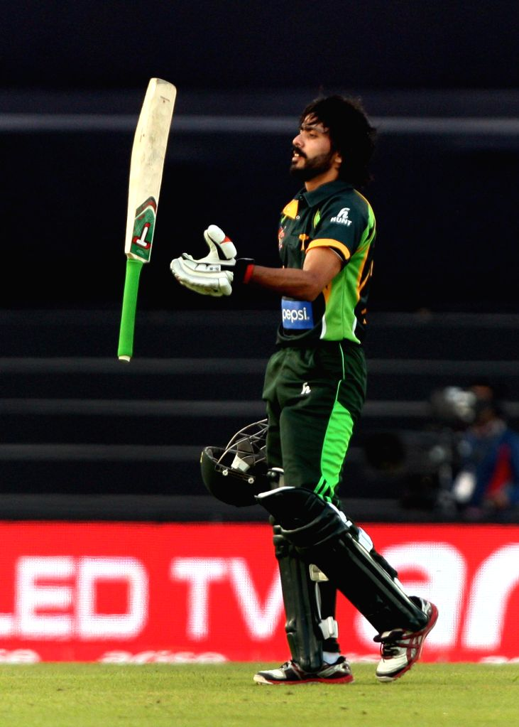 Pakistani player Fawad Alam during the final match of the Asia Cup tournament between Sri Lanka and Pakistan at Shere Bangla National Stadium, Mirpur, Bangladesh, on March 8, 2014. (Photo: IANS)