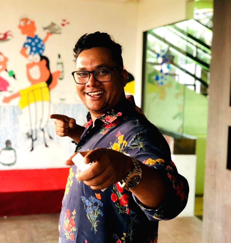 Pallav Ojha, CEO and co-founder at India Beach Fashion Week. (Photo: pallavojha/Instagram)
