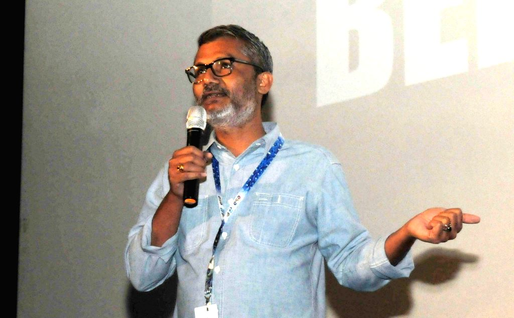 Panaji: Director Nitesh Tiwari of the film DANGAL at the Master Class during the 48th International Film Festival of India (IFFI-2017), in Panaji, Goa on Nov 23, 2017. (Photo: IANS/PIB)