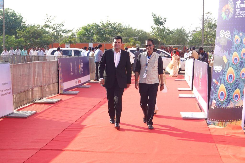 Panaji : Producer Siddharth Roy Kapur at the red carpet of closing ceremony of  48th International Film Festival of India (IFFI-2017), in Panaji, Goa on November 28, 2017. - Siddharth Roy Kapur