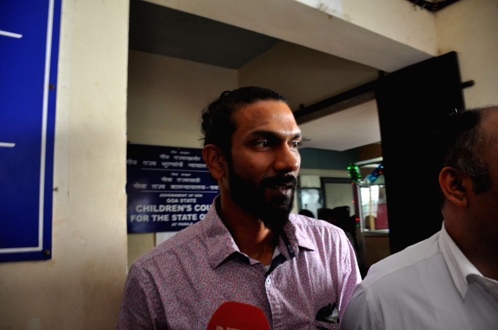 Panaji: Samson D'Souza, one of the two beach shack worker, accused of sexually assaulting and killing 15-year-old UK teenager Scarlett Keeling on a Goa beach in 2008, comes out after being acquitted by a trial court in Panaji on Sept 23, 2016. (Photo