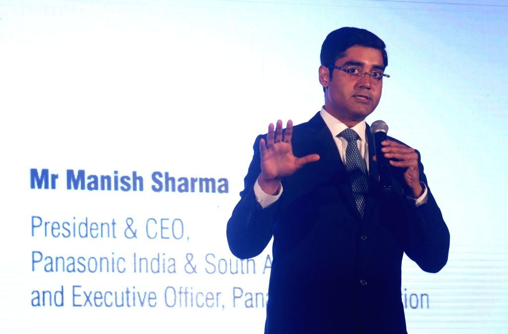 Panasonic India and South Asia President and CEO Manish Sharma. (Photo: IANS) - Manish Sharma