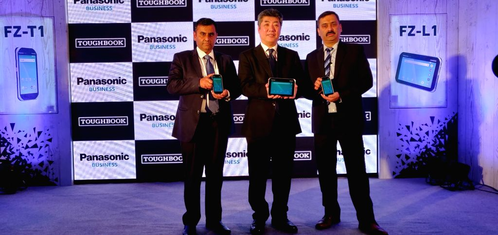Panasonic India Business Head (System Solutions Division) Vijay Wadhwan, Panasonic Corporation IT Products Business Division Hiroaki Sakamoto and Panasonic India Business Head (Toughbook ...