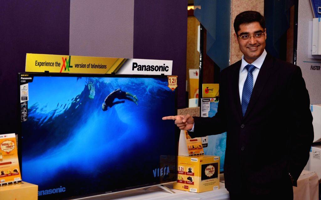 Panasonic India President and CEO Manish Sharma during a press conference in Kolkata, on Sept 20, 2016. - Manish Sharma