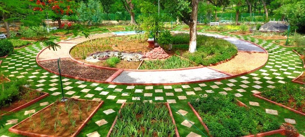 Panchatatva garden opened at Hyderabad's Indira Park