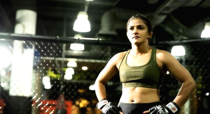 Pandemic made me stronger, says MMA star Ritu Phogat.(photo:IANSLIFE)
