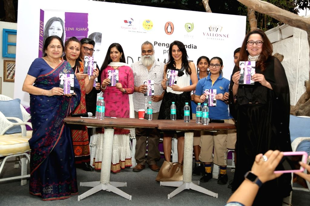 Panel discussion at the book launch of Drama Teen author by Lina Ashar in Mumbai on Jan 24, 2017