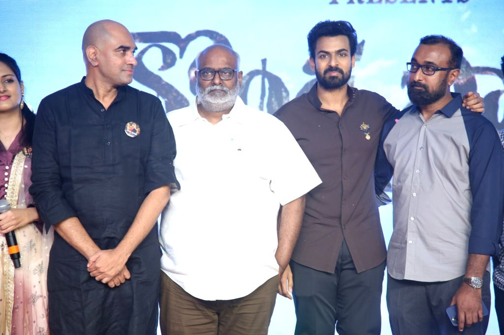Panja Vaishnav Tej acted Kondapolam Movie audio launch held at Kurnool Dist of Andhra Pradesh State